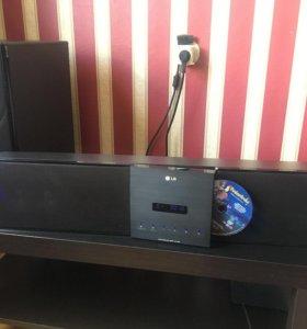домашний кинотеатр  Sound bar LG HLT55W
