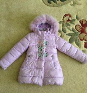 Куртка удлинённая (зима,5-7 лет)