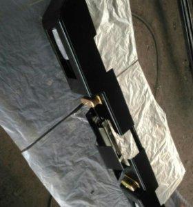 Бампер на хантер металлический(усиленый)