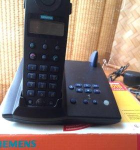 Домашний беспроводной телефон siemens