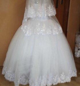 Отдам на прокат свадебное платье