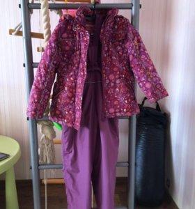 Демисезонный комбинезон и куртка