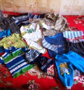 Одежда на мальчика до 3 лет все за