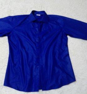 Рубашка длиный рукав,состочние отличное