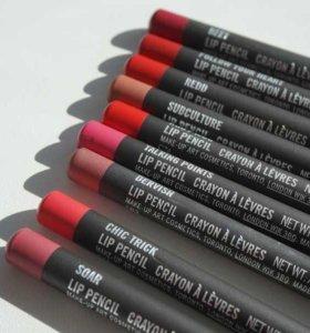 Новые карандаши для губ M.A.C