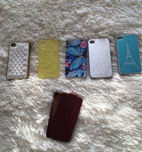 Чехлы на айфон 4 (4s)