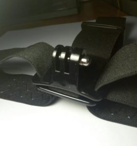 Крепление для экшк камеры на голову проризиненое