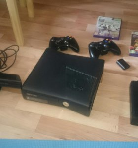 Xbox 360 + Kinect и игры