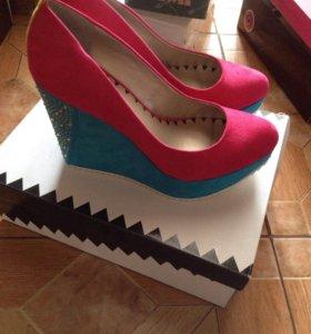 Обувь платформа