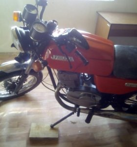 Мотоцикл Ява 638, 350-кубовая