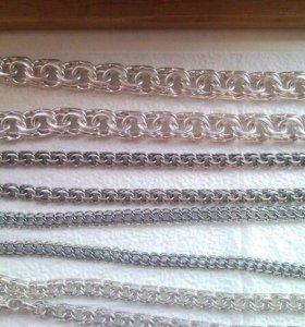 Цепочки из серебра