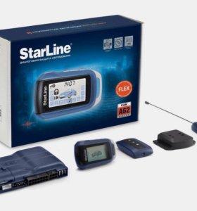 Автосигнализация starline a62