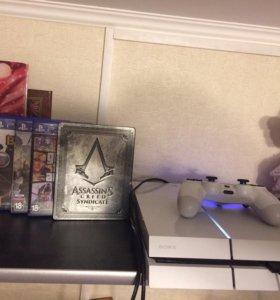 Sony PlayStation 4 + 6 дисков