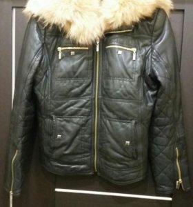 Куртка кожа автоледи 46 48