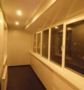 Ремонт, расширение балконов.