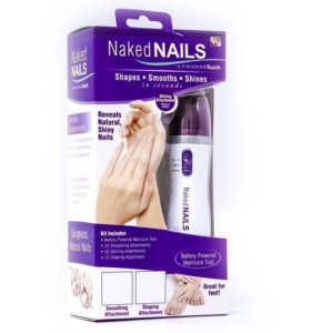 """Пилка для полировки ногтей """"Naked Nails"""". Новые!"""