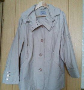 Куртка ветровка 58-60 размер новая