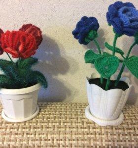 Тёплые цветочки