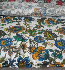 🌇Ткань на шторы плотный хлопок12х1,4 винтаж рулон