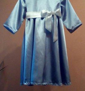 Платье для девочки р.122