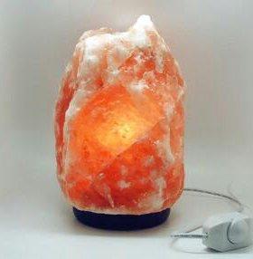 Солевая лампа глыба