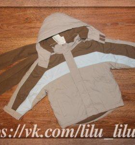Новые куртка+шарф REBEL демисезон.