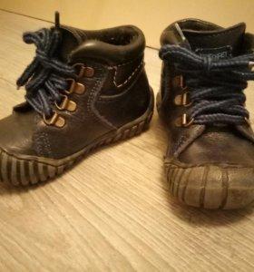 Весенняя обувь детская