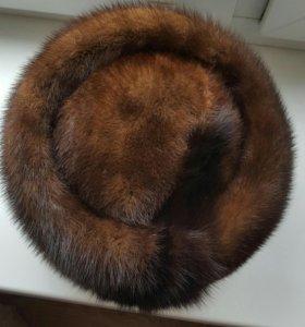 Женская норковая шапка СССР