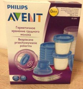 Контейнеры для хранения молока Avent