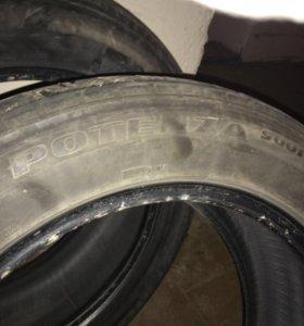 Летние шины Bridgestone Potenza R17 2шт