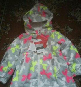 Новая весенняя куртка Reima