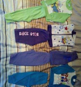 Комплекты кофта +штаны
