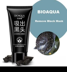 Чёрная маска BIOAQUA