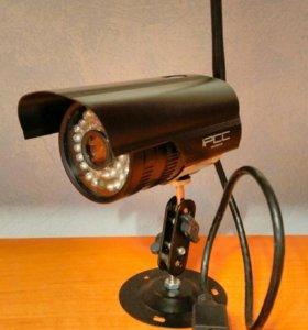 Цифровая WiFi видеокамера с инфракр. датч. движе