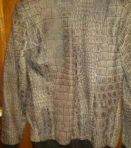 Куртка из натуральной кожи