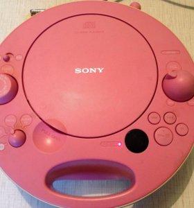💃Магнитола Sony ZS-E5 для девочек
