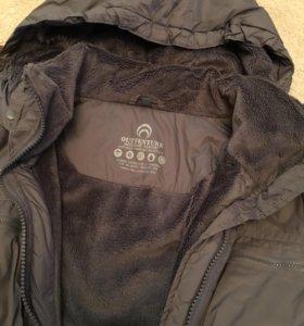 Куртка на флисе,44 размер