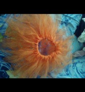 Пышная юбка очень красивая. 4-7лет