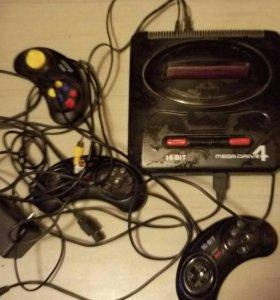 Приставка Sega Mega Drive4