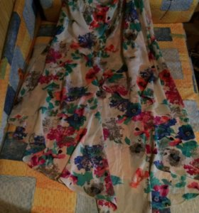 Летняя юбка-миди