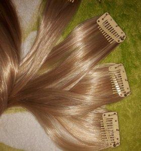 Искусственный волос на заклёпках