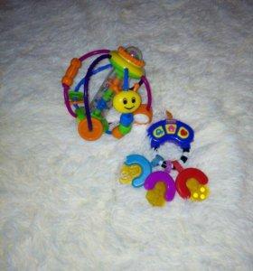 Игрушки ( пакетом)