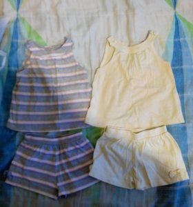 2 набора mothercare 12-18мес (86)