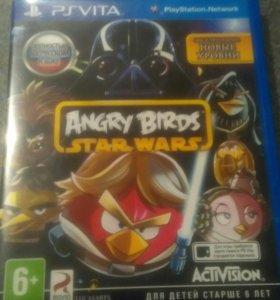 Игра Angry Birds для PSVita