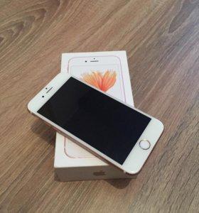 iPhone 6S Rose Gold 64G Б/У