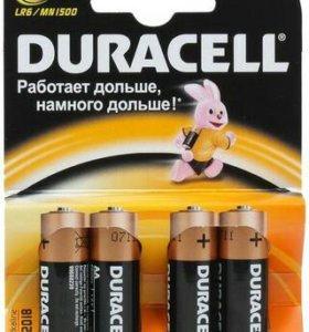 Батарейки дюрасел 4 шт