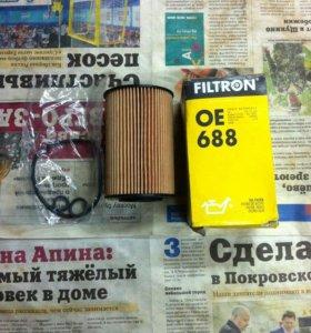 Фильтр масляный Ауди, Фольцваген Filtron OE688