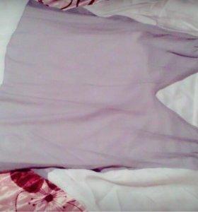 Платье желетка и блузка