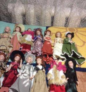 Замечательные фарфоровый куколки