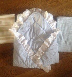 Плед 2шт + одеяло конверт